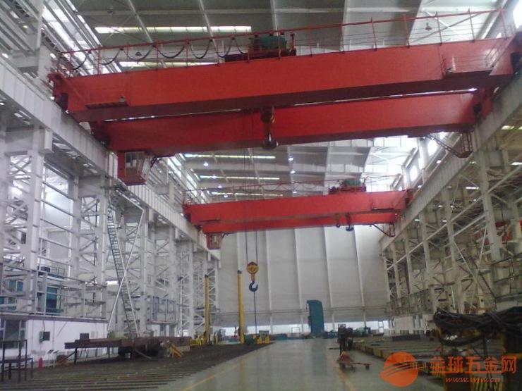 二手90+90噸門式起重機拆裝