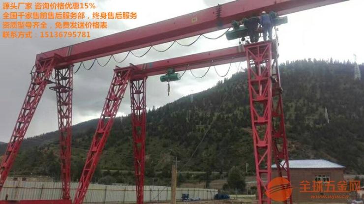 井口专用桥式悬臂天吊生产厂家/抓斗吊钩桥式行吊多少钱