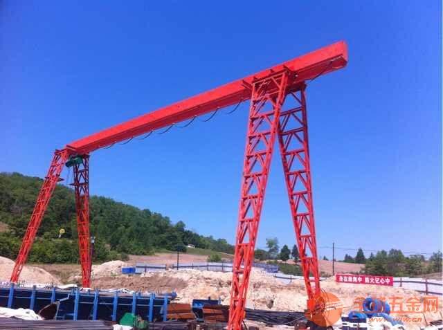 西安临潼二手20吨单梁起重机安全拆装