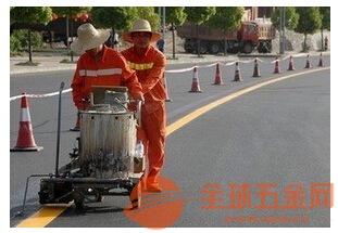 贵州兴仁道路划线公司施工专业马路热熔标线企业