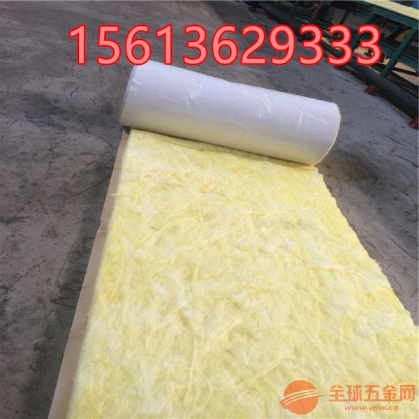 防火玻璃棉卷毡铝箔屋顶大棚保温隔热材料隔断隔音吸音填充棉价格