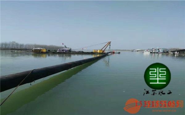 新闻:水下法兰连接―(水上起重船铺管)