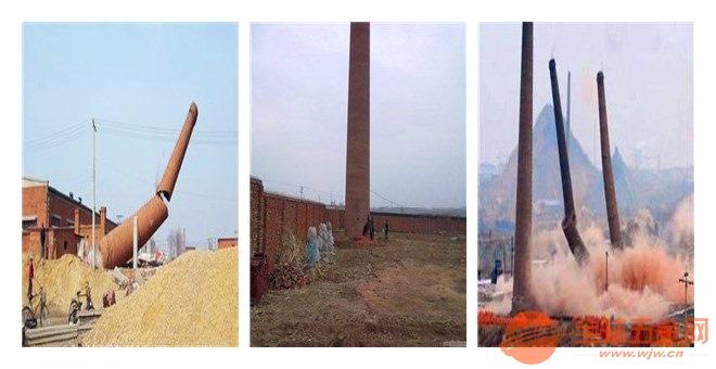 济南混凝土烟囱拆除公司/欢迎访问