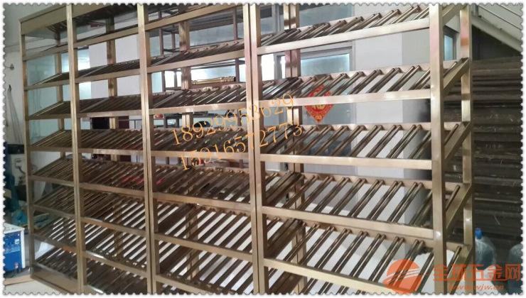 提供不锈钢酒架 不锈钢恒温红酒柜定制效果图