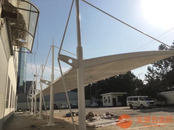 嘉定區PVDF高透光膜結構停車棚制作安裝價格