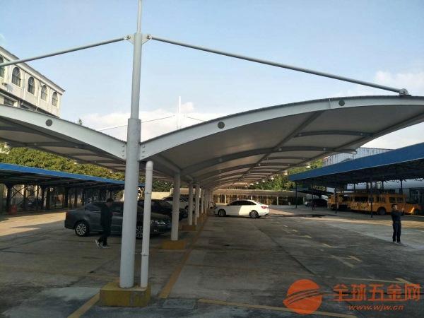 青浦区PVDF高透光膜结构停车棚制作安装价格