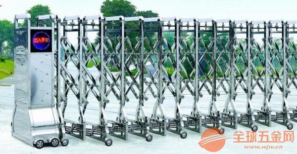 花桥开发区安装一个电动伸缩门多少钱