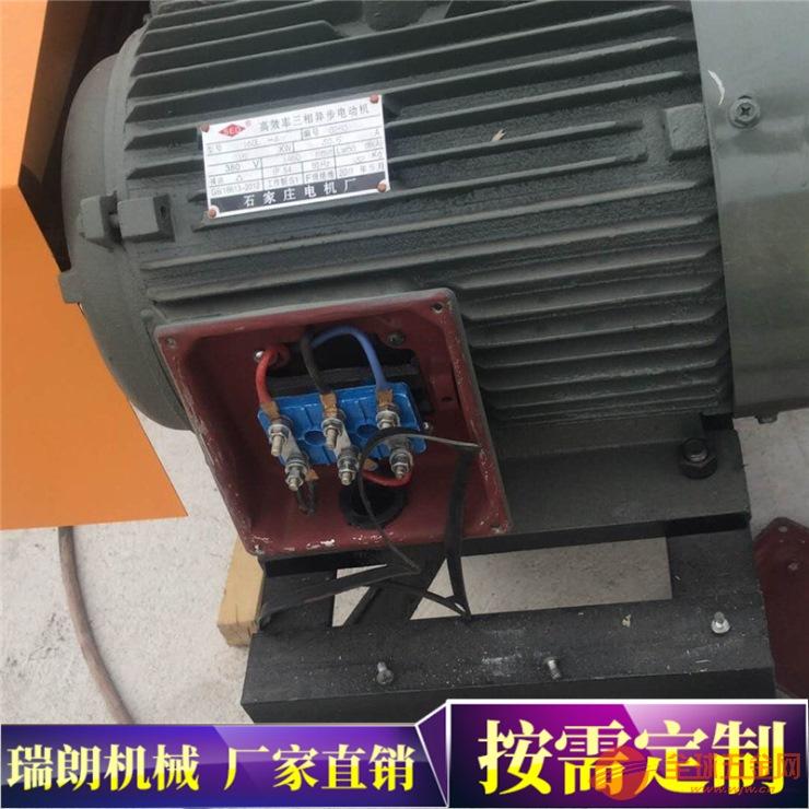 回收站专用废旧钢筋切头机