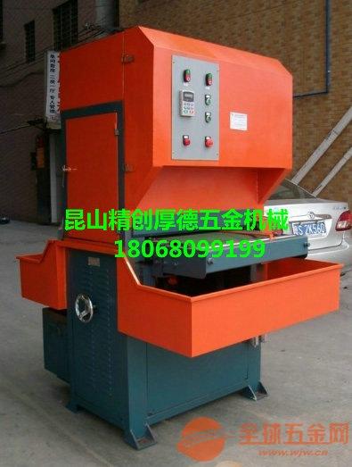 600寬板材拉絲機砂帶磨削拉絲工件的粒度【上海精創機械】教你如何選擇