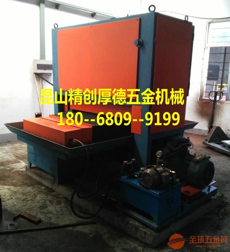 板材拉絲機磨削工序的粒度選擇