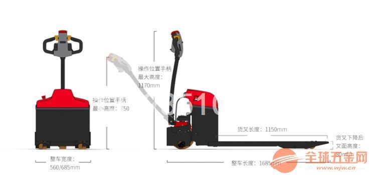 深圳2吨大金刚电动搬运车EPT20-ET