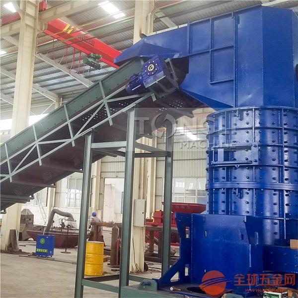 废钢筋粉碎机型号技术参数 电机壳破碎机生产线处置工艺