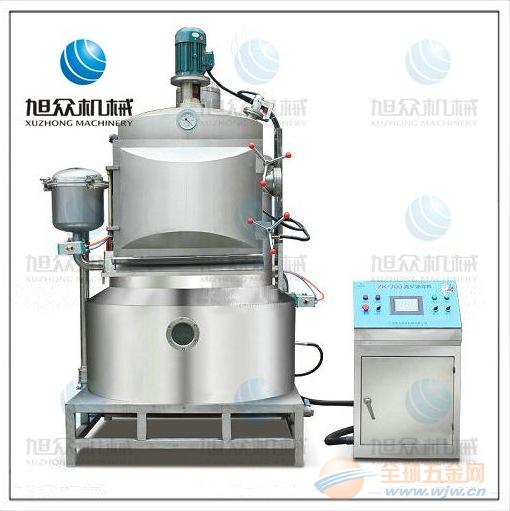 杭州旭众真空油炸机设备生产厂家炸秋葵的机器