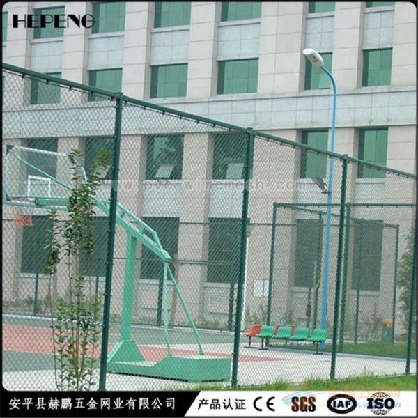 球场防护网 体育场防护围栏网 运动场隔离栅