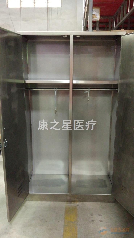广东佛山康之星厂家直销不锈钢两门地柜 医院药房用药柜 医用柜