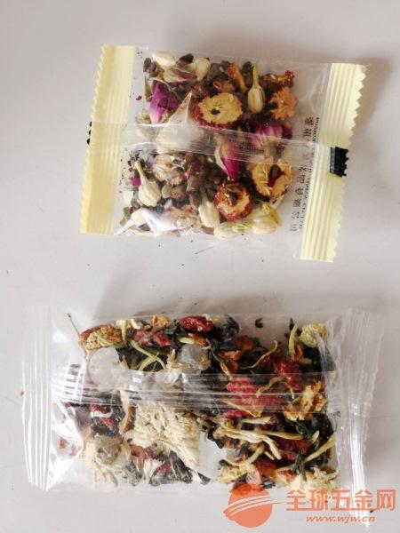 組合八寶茶包裝機 鏈斗式電子秤計量茶葉包裝機