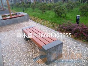赵县森木塑木竹木地板施工