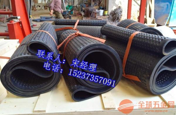环形橡胶麻坑带3.1米长环形黑色皮带玉米扬场机原装抛粮带