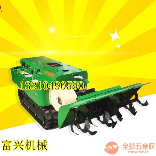 台州履带式果园管理机 新款园林自走式绿化除草机