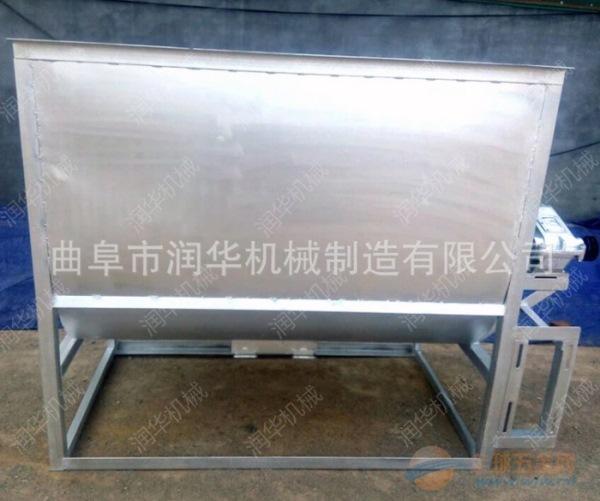 新余臥式飼料混合機TMR飼料粉碎攪拌機