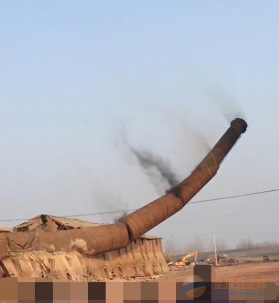 忠县专业废旧烟囱拆除单位