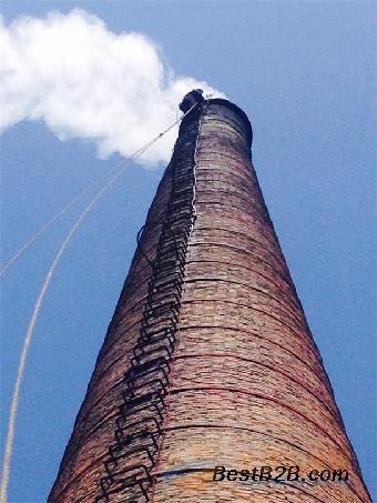 白山市专业拆除锅炉烟囱单位