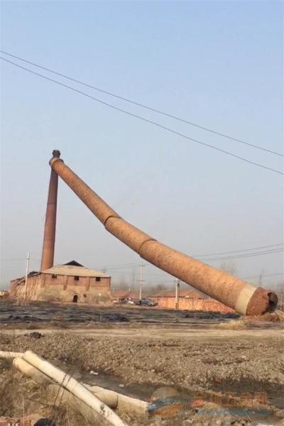 崇左市专业砖窑厂烟囱拆除单位