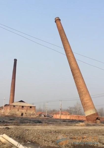 大港区专业锅炉烟囱爆破拆除单位
