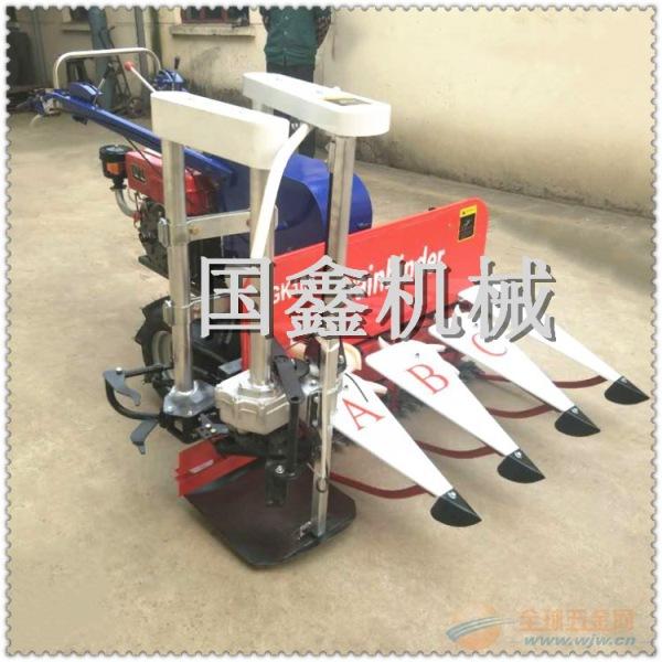 手扶式芝麻大豆收割机 柴油稻麦收割机价格 永平县