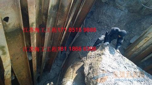 无锡市水下管道安装气囊工程施工