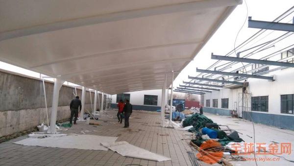 和平区汽车棚工业厂区耐用结构汽车棚维修